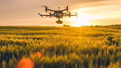 It's a Bird! It's a Plane! Nope, It's An Agriculture Drone