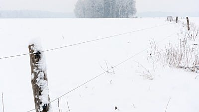 Winterizing Your Electric Fence
