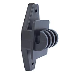 Zareba® Black Wood Post Claw Insulators - 1-Pack