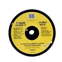 Zareba ® 17 Gauge 1/4 Mile Aluminum Wire
