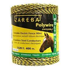 Zareba® Yellow 6 Conductor Polywire