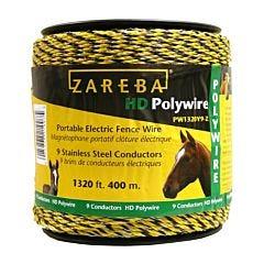 Zareba® Yellow 9 Conductor Polywire