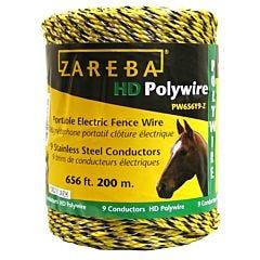 Zareba® 9 Conductor Polywire - 656 ft