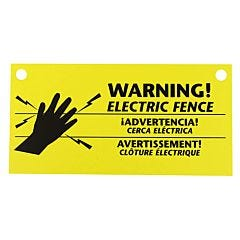 Zareba® Electric Fence Warning Signs - 1-Pack